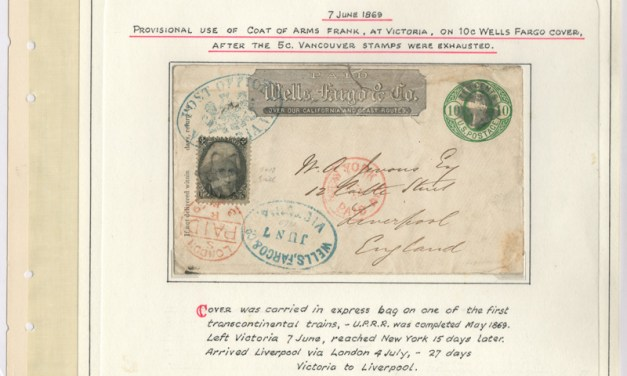 Wells Fargo 1869 mixed franked Cover to Liverpool, ex Wellburn