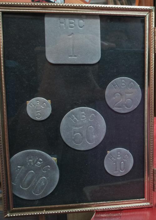 HBC 1946 Arctic token set 500
