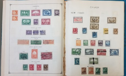 World Mint & Used in 1928 International album incl Canada, China etc