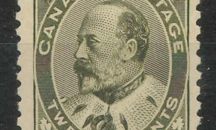 Canada #94 F/VF Never Hinged 20c Edward VII