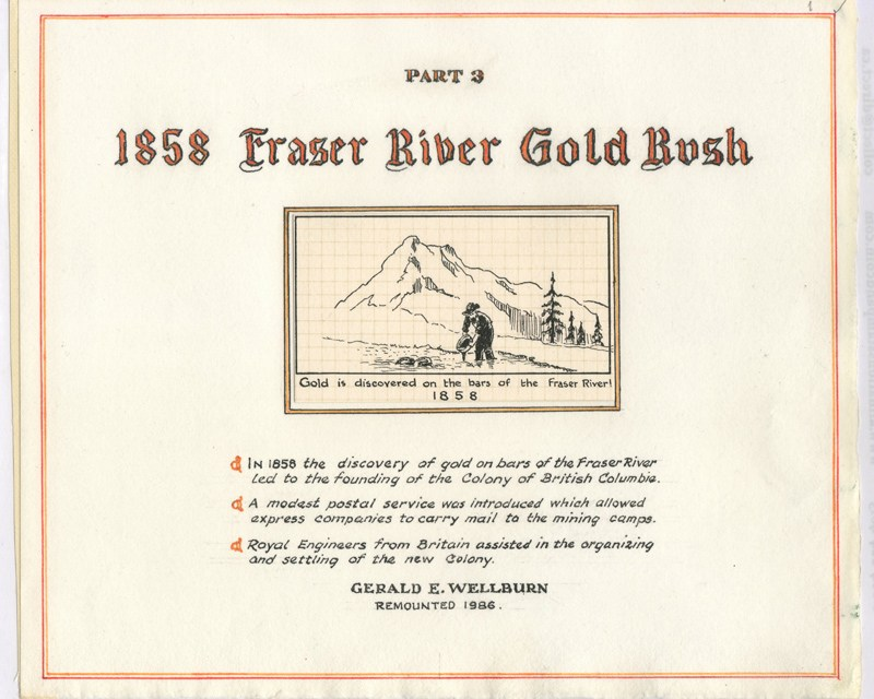 1858 Fraser River Gold Rush by Gerald Wellburn