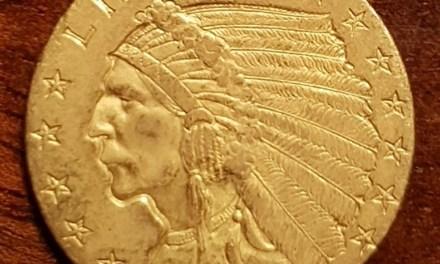 U.S.A. 1911 Indian Head Gold $2.50
