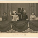 George VI & Elizabeth signed 1945 VE Day Christmas Card