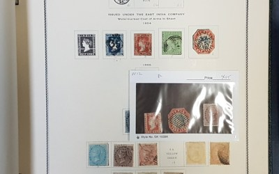 India & States 1854/1962 Mint & Used in Scott Specialty album (1403)