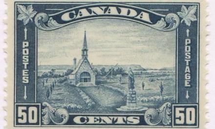 Canada #176 VF Mint 1930 50c Grand Pre