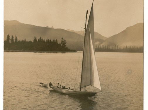 Philip Timms' Where Work is Forgotten, Vancouver, B.C. Postcard