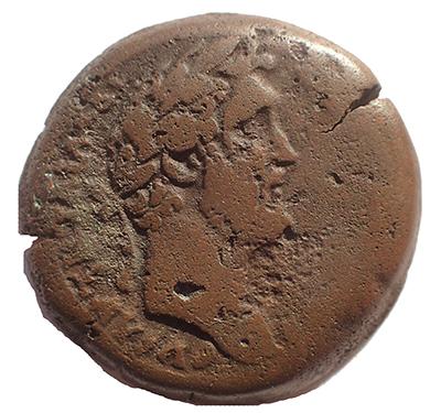 Egypt, Alexandria Antoninus Pius AD 151 Ae Drachm