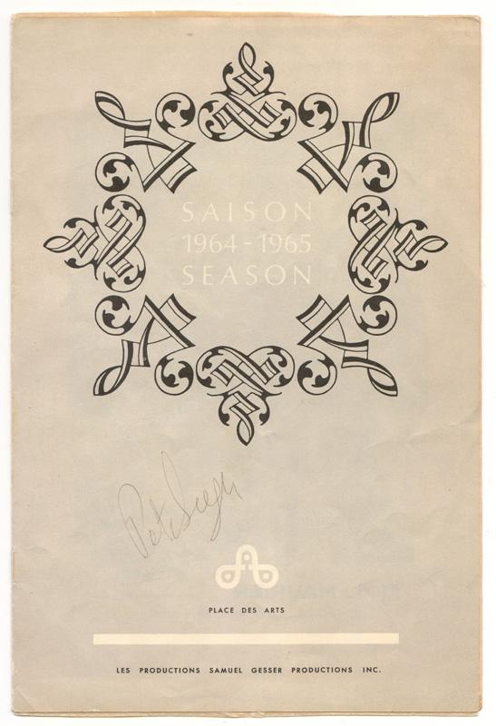 SAISON 1964 - 19656 - SEASON, signed beneath