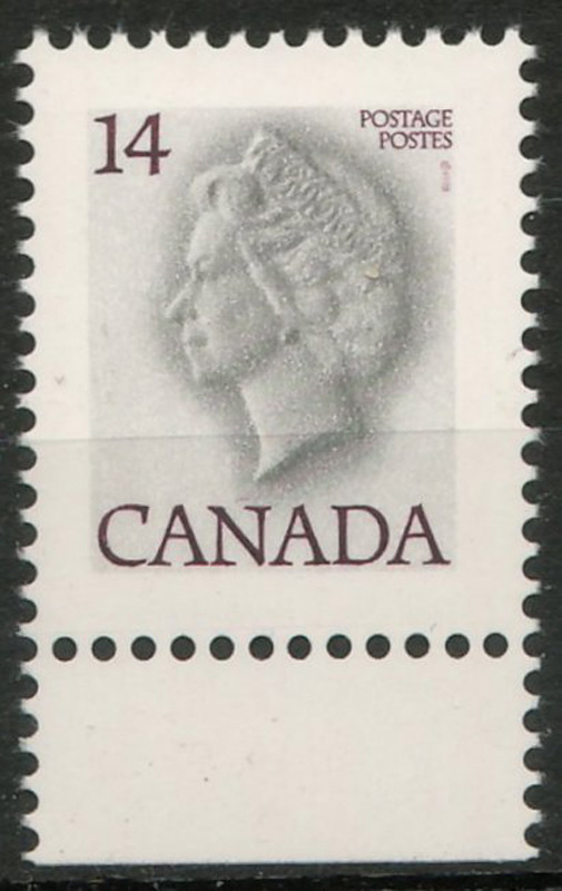 Canada #716c 1978 14c White Queen Variety in stock book