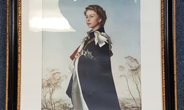 Queen Elizabeth II Pietro Annigoni signed, framed colour Print