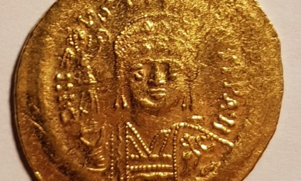 Byzantine 527-565AD Justin I Gold Solidus