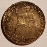 French Indo-China BU 1910 Silver 10 Cent