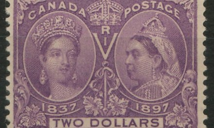 Canada #62 Fine+ Never Hinged 1897 $2 Jubilee