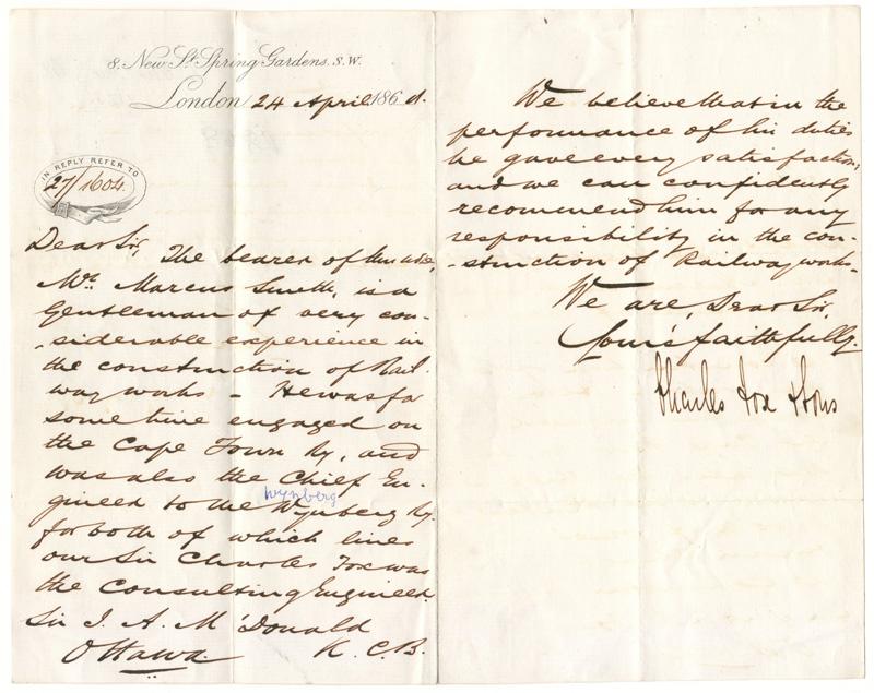 Handwritten letter unfolded