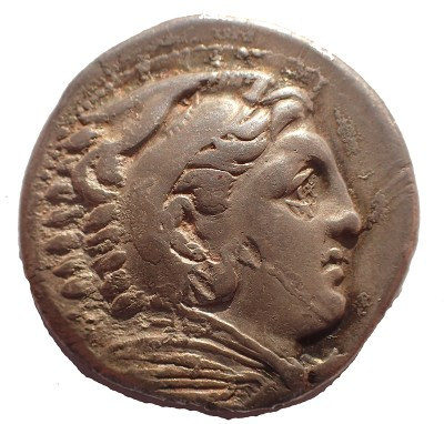 Obverse with Heracles