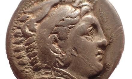 Philip III of Macedon 323-317 BC Silver Tetradrachm