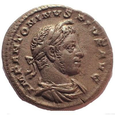 Elagabalus  IMP ANTONINVS PIVS AVG
