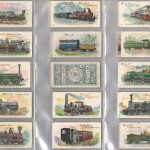 Wills' 1901 Locomotives & Rolling Stock Cigarette Card Set (50)