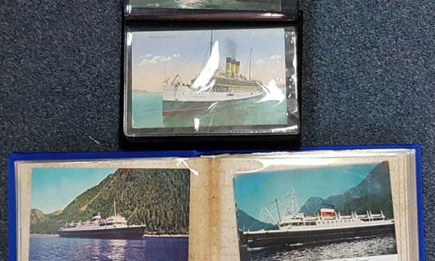 Ships & Ferries Postcards in two volumes (159 pcs)