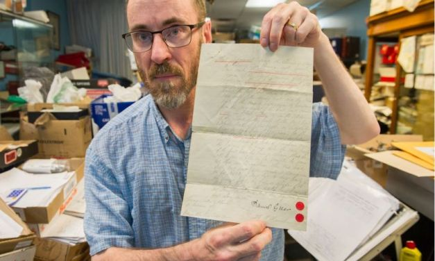 Early Kitsilano property documents with links to Sam Greer found in box of books