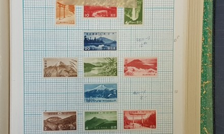 Japan 1936/1965 Mint in Rapkin album incl Sets etc (372)