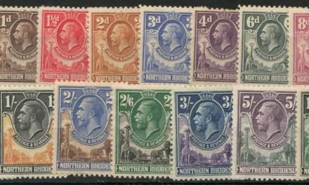 Northern Rhodesia #1/16 Mint 1925/1929 George V (15)