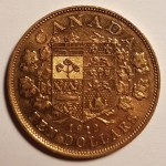 Canada XF 1912 George V Gold 10 Dollars .4837oz AGW