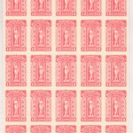 British Columbia #BCL65 VFNH 1981 $15 Rose Plate #0065 Sheet (25)