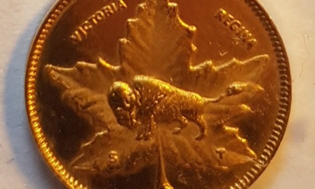 Manitoba Gold Unc 1898 Dollar w/ good provenance