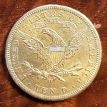 U.S.A./Colonial Canada XF 1906D Gold Eagle .48375oz AGW