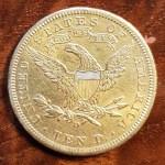 U.S.A./Colonial Canada XF 1906D Gold Eagle .48375oz AGW