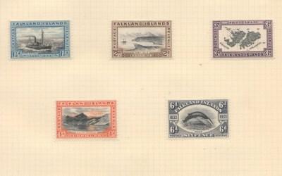 Falkland Islands #65-74 Mint 1933 Centenary Set to 5/- (10)