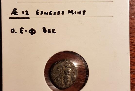 Ephesos, Ionia 387-295BC 10.12mm 1.7g AE12
