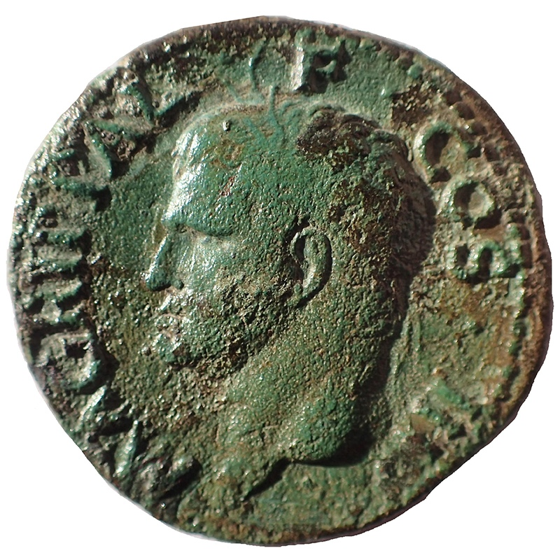 Obverse with Agrippa bust