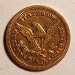 U.S.A. VF 1849 $2.50 Gold Quarter Eagle .12094oz AGW