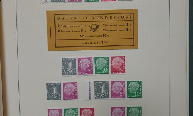 Germany 1951/1984 Mint & Used on Scott pages as received (1300)
