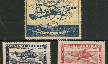 Canada #CL9-11 Never Hinged 1926 25c Fairchild Air trio $257