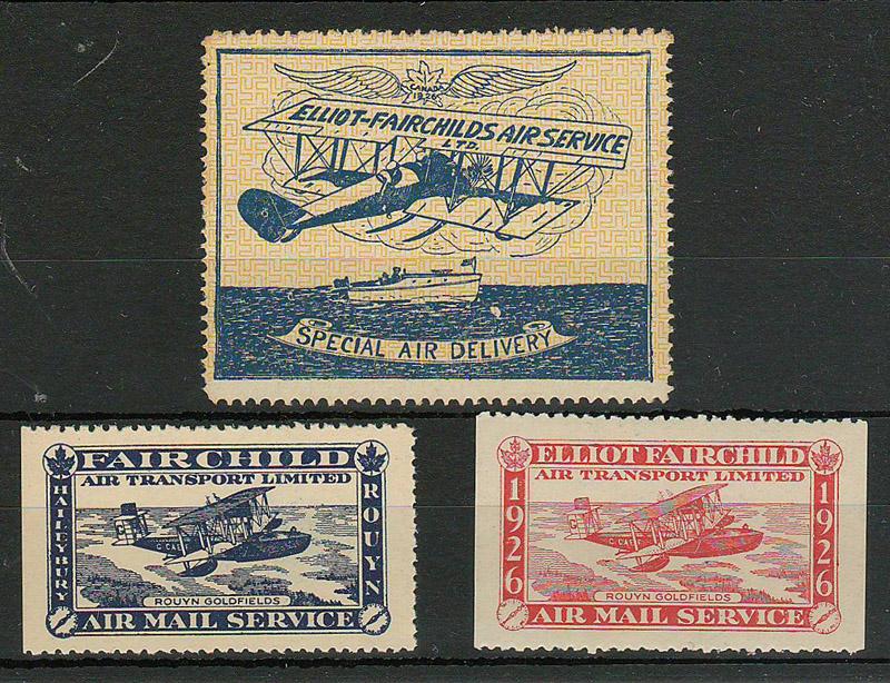3 stamps in stockbook