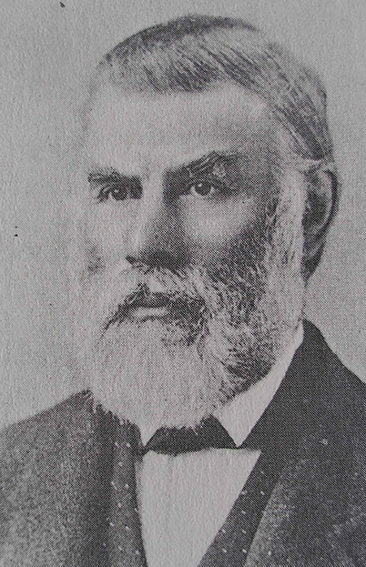 black and white image of Thomas Trounce thank you  templelodge33.ca