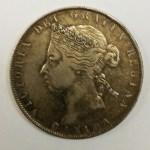 Canada 1894 Victoria Silver 50 Cents