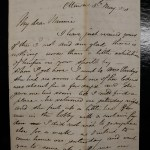 Canadian Pacific Railway 5 May 1873 6 sides Marcus Smith Letter