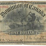 Dominion of Canada #DC13a 1898 $1 Bill