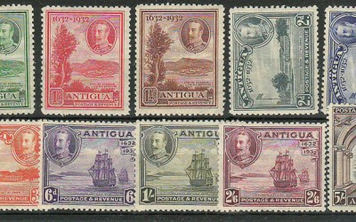 Antigua #67-76 1932 George V Set (10)