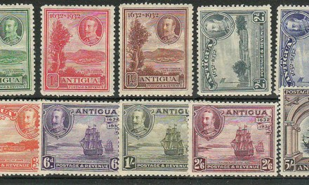 Antigua #67-76 1932 George V Set (10)
