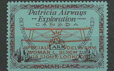 Patricia Airways #CL18 1926 50c S.O.A. only 1800 issued