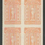 British Columbia #BCL67 1981 $50 Plate Block (4)