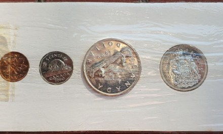 Canada BU 1960 6-coin Silver Proof-like Set