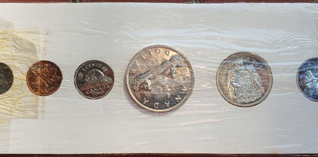 Canada BU 1960 6-coin Silver Proof-like Set