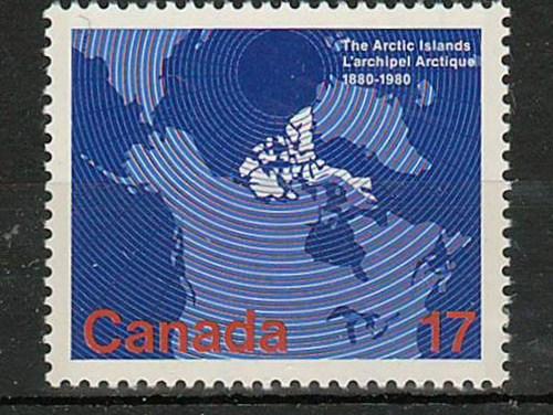 Canada #847i 1980 17c Missing Colour error