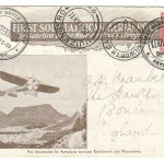South Africa 27 De 1911 1d Kenilworth First Flight Card to Bournemouth